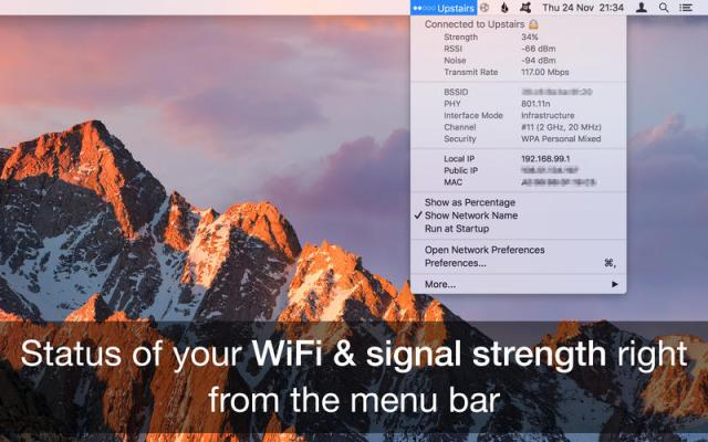 Wifi Signal Strength Mac