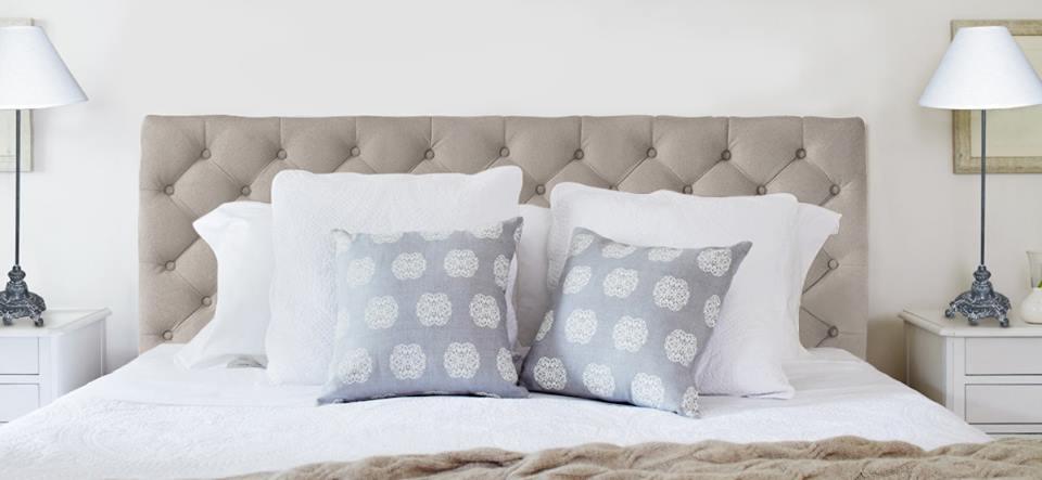 upholstered bedhead llnen