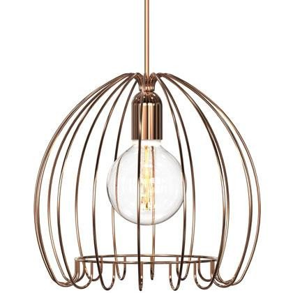 2 - Cage Pendant Light