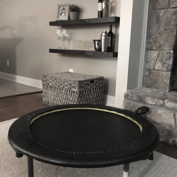 How a Rebounder Helps With Weight Loss