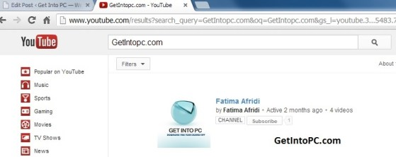 Surf youtube in Pakistan successfully