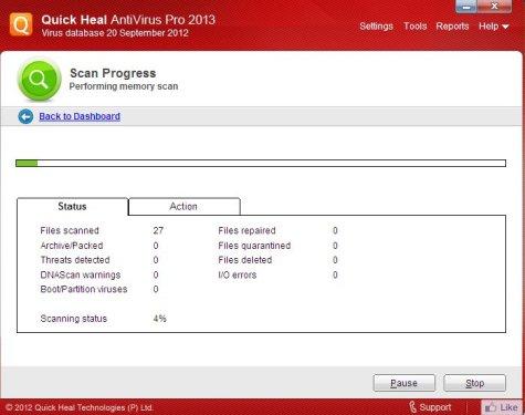Quick Heal Pro antivirus
