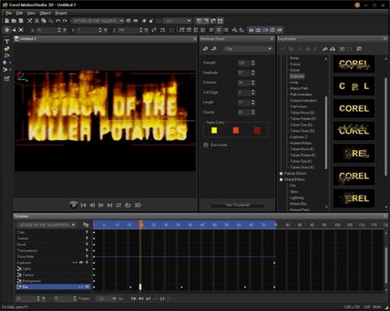 Corel Motion Studio 3D Free Download