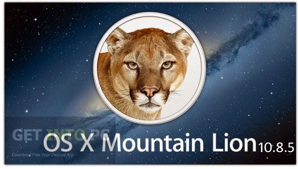 Niresh Mac OSX Mountain Lion 10.8.5 ISO Free Download