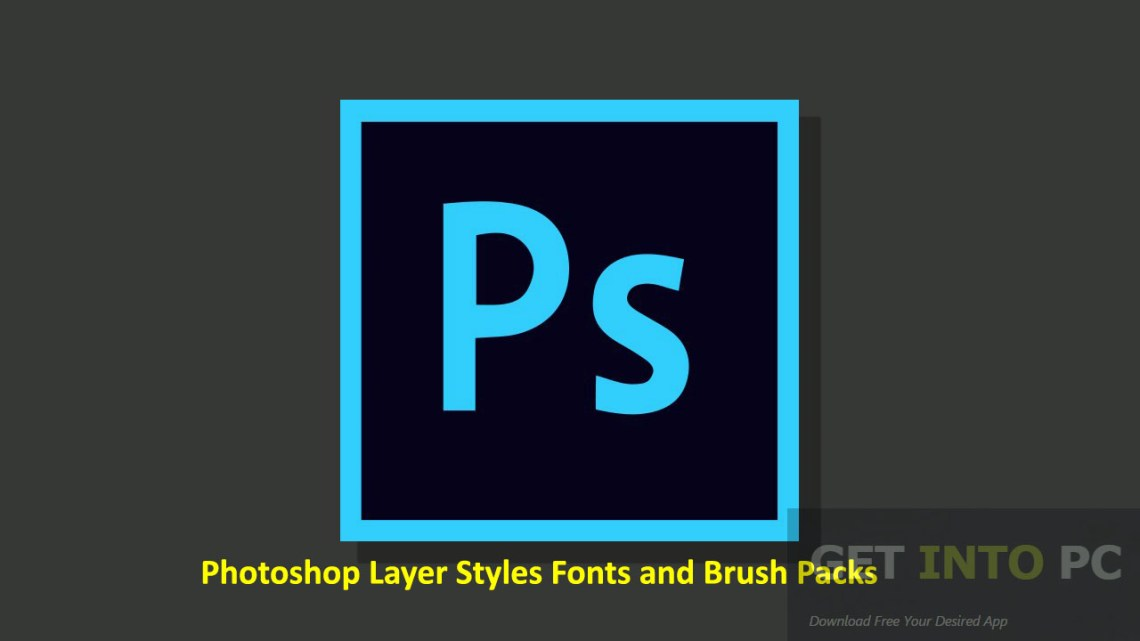 Download Photoshop Layer Styles Fonts and Brush Packs Free Download