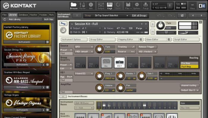 Download Native Instruments Kontakt 5.6.8 DMG For Mac OS