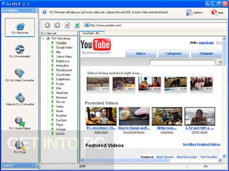 GetFLV Pro Download For Free
