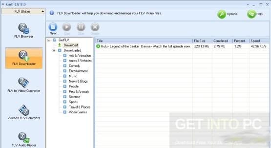 GetFLV Pro Offline Installer Download