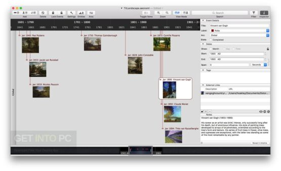 Aeon Timeline DMG for MacOS Latest Version Download