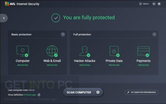 AVG Internet Security 2017 Latest Version Download
