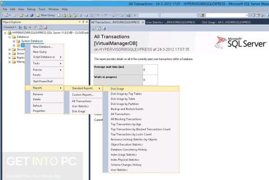 Microsoft SQL Server 2012 Enterprise Latest Version Download