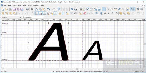 FontCreator Professional 11.5.0.2421 Offline Installer Download