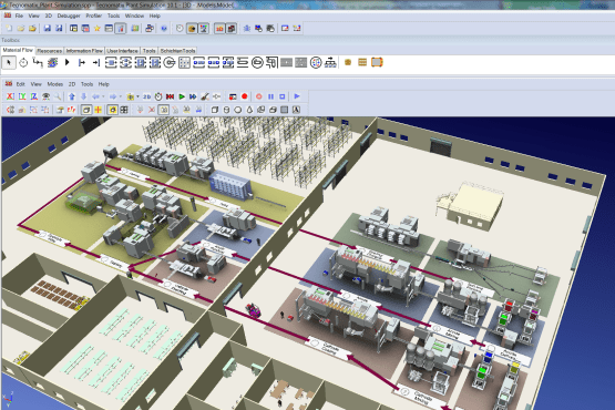 Siemens Tecnomatix Plant Simulation 14.0 Latest Version Download