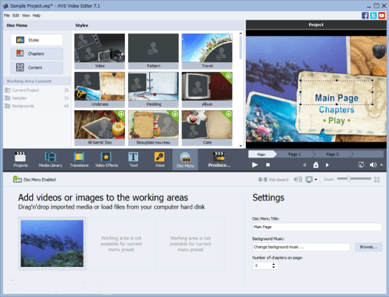 AVS Video Editor 8.1.1.311 Direct Link Download