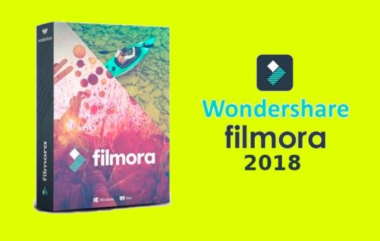 Wondershare Filmora 2018 Free Download