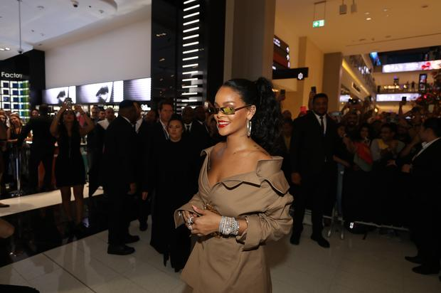 Rihanna Serving Looks On Vogue Australia