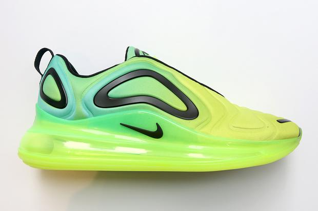 "Nike Air Max 720 ""Volt"" Dropping Next Month: Detailed Photos"