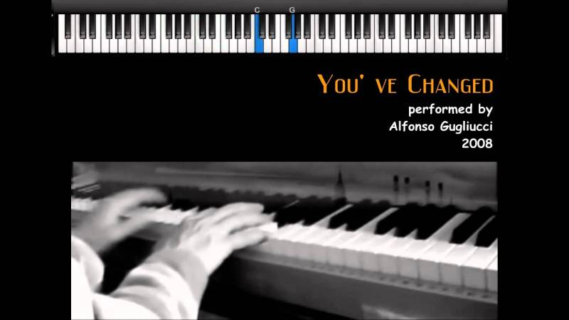 Samples: You've Changed  –  jazz piano