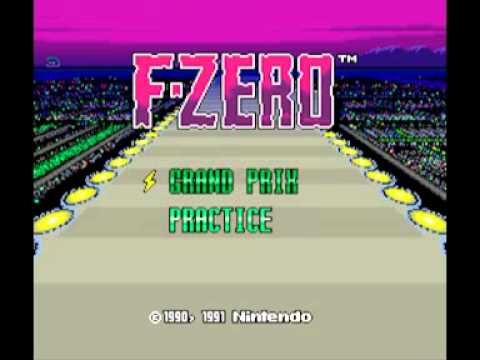 Samples: F-Zero (SNES) Music – Silence Track