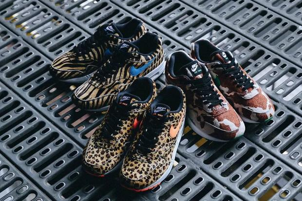 "Atmos X Nike Air Max 1 ""Animal Pack 3.0"" Drops This Weekend: Details"