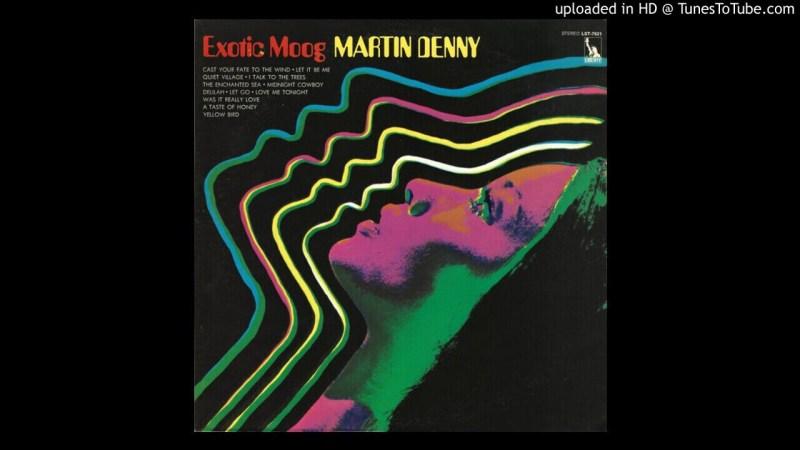 Samples: Martin Denny – Let Go (Canto De Ossanha) (Electronic) (1969)