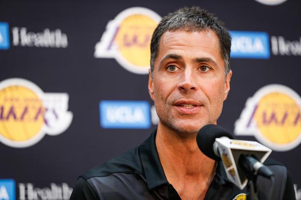 Lakers' Rob Pelinka Reacts To Losing Kawhi Leonard Sweepstakes