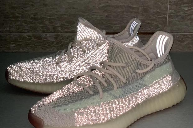 "Adidas Yeezy Boost 350 V2 ""Reflective Citrin"" Revealed: First Look"