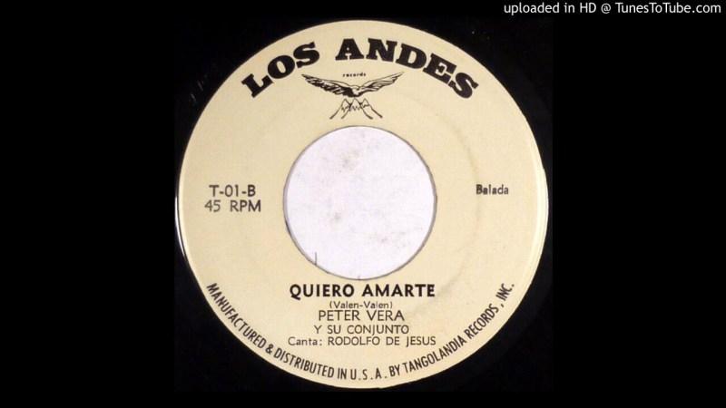 Samples: Peter Vera Y Su Conjunto – Quiero Amarte (Latin) (1984)