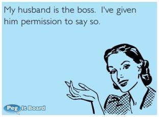 husband is boss