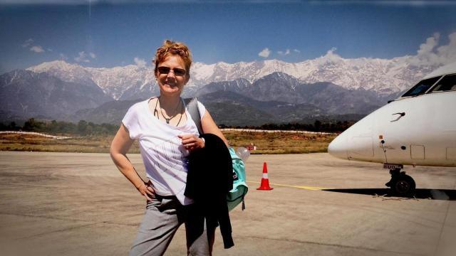Paula in the Himalayas