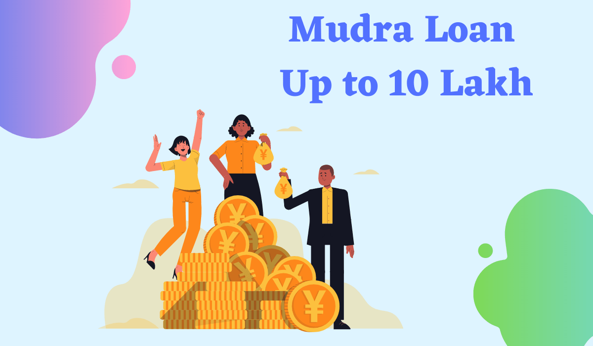 Mudra Loan- Instant Approval up to 10L