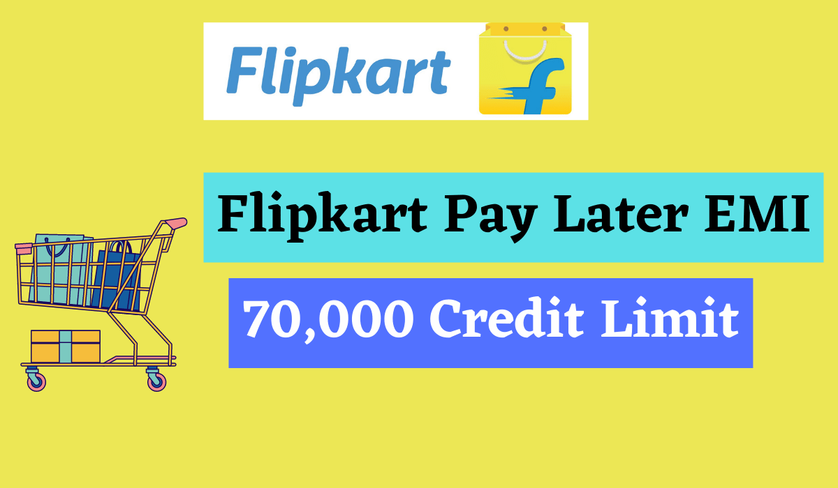 Flipkart Pay Later EMI- Up to 12 Months EMI Facility