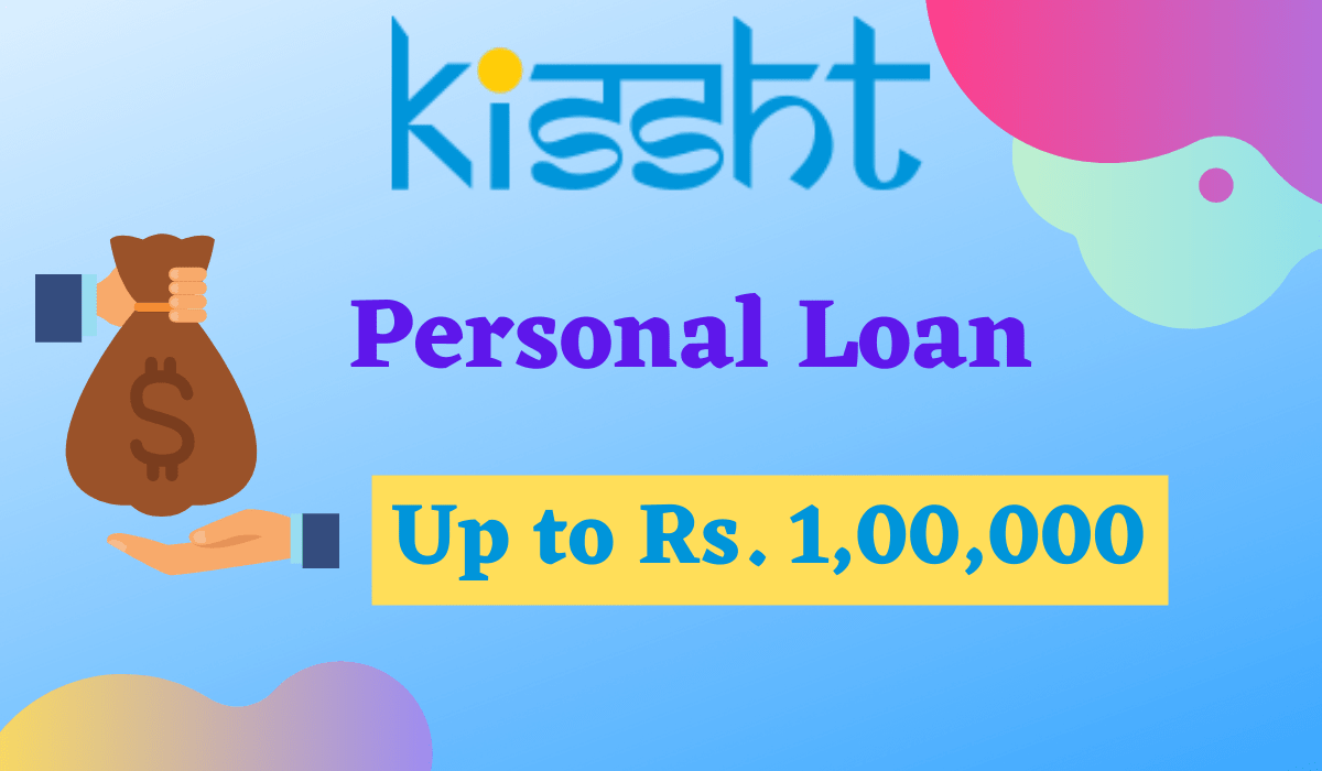 kissht personal loan: Instant Shopping Loan Up to 1L