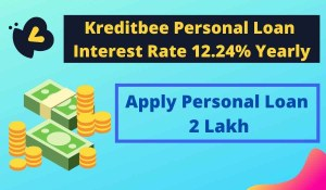 Kreditbee Personal Loan Interest Rate Starting @12.24% Yearly