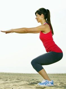 Plyometric workout to get a bigger butt