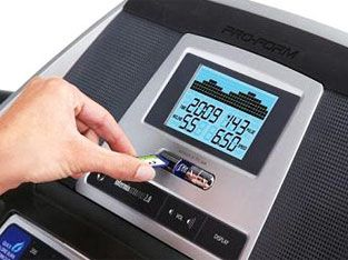 Treadmill calories counter