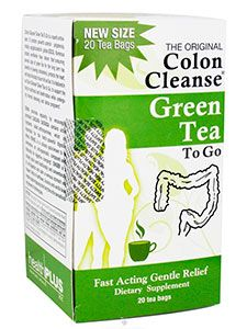 Green Tea for colon cleanse