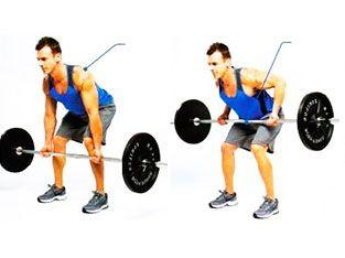 Program 1: Barbell row workout
