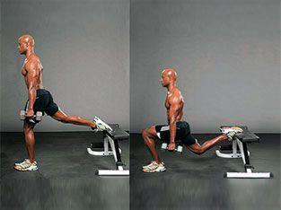 Workout 8: Bulgarian split squat