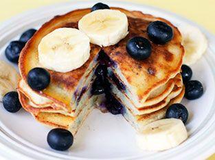 Post-workout: protein pancakes
