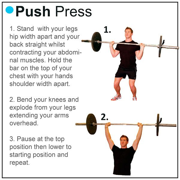 Program 1: Push press workout
