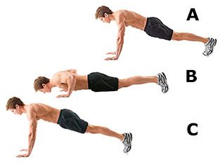 Workout 1: Push ups