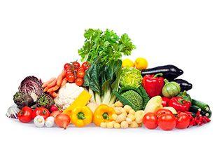 Top 10 vegetables