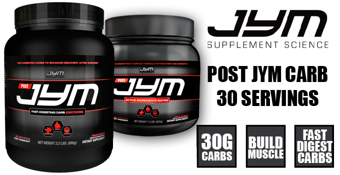 Post Jym Supplement by JYM