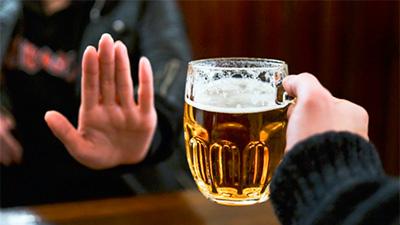 No beer, no alcohol