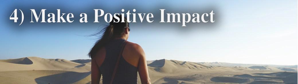 x4 make a positive impact