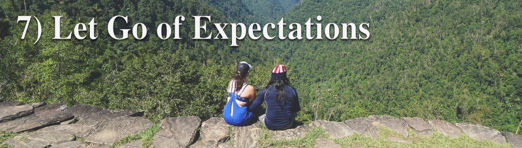 x7 let go of expectations