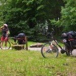Pausa pranzo in bici nella Foresta Nera