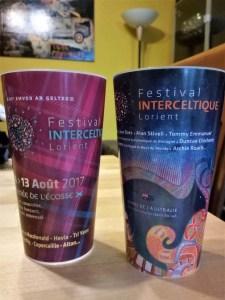 Festival interceltico di Lorient bicchieri