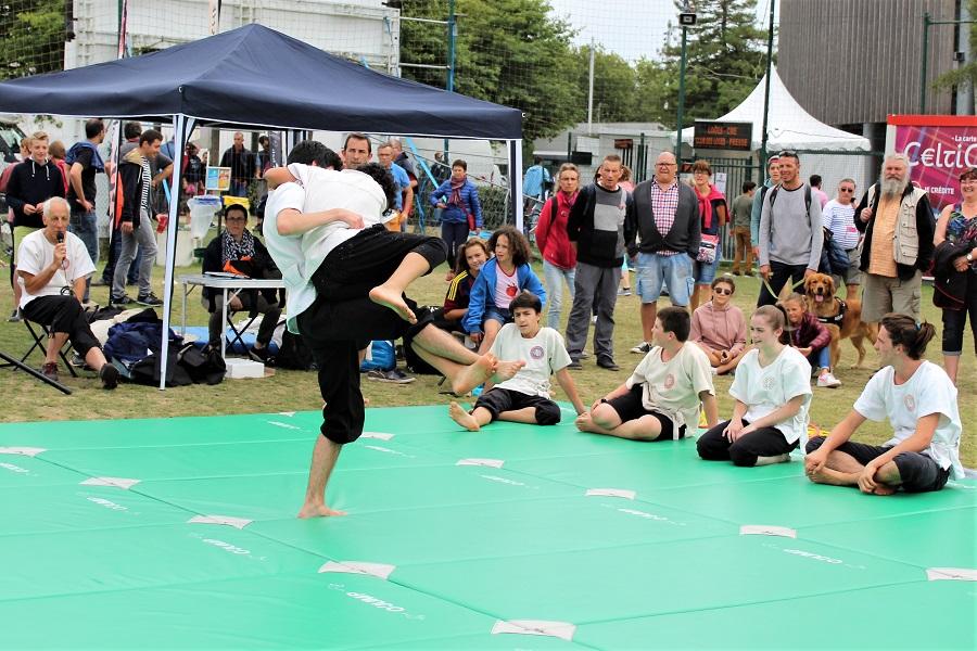 Festival Interceltico di Lorient - lotta bretone